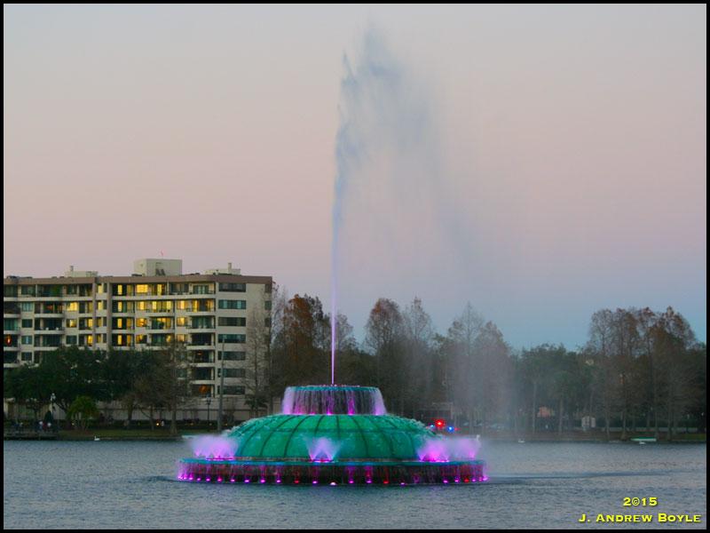 Eola Fountain